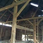 Reclaimed lumber project Quicksburg, Virgina 22847