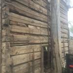 Antique log cabin reclaimed in the Shenandoah Valley