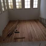 Washington DC 20007 Installation of reclaimed wood floors