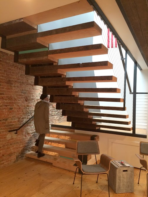 Installed Wood stairs in Washington DC