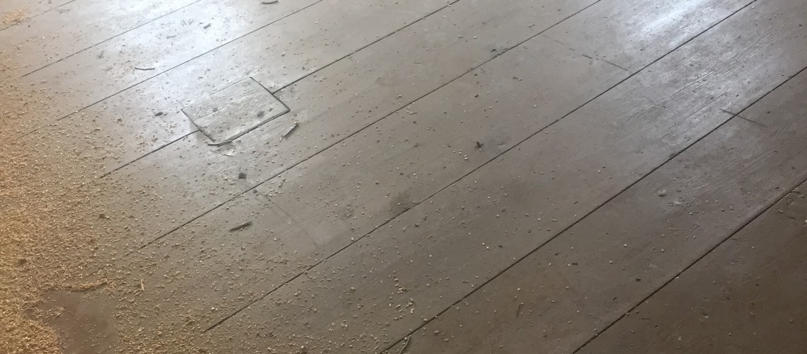 HWS: Early 1700's – 1800's Reclaimed Floor From the Shenandoah Valley