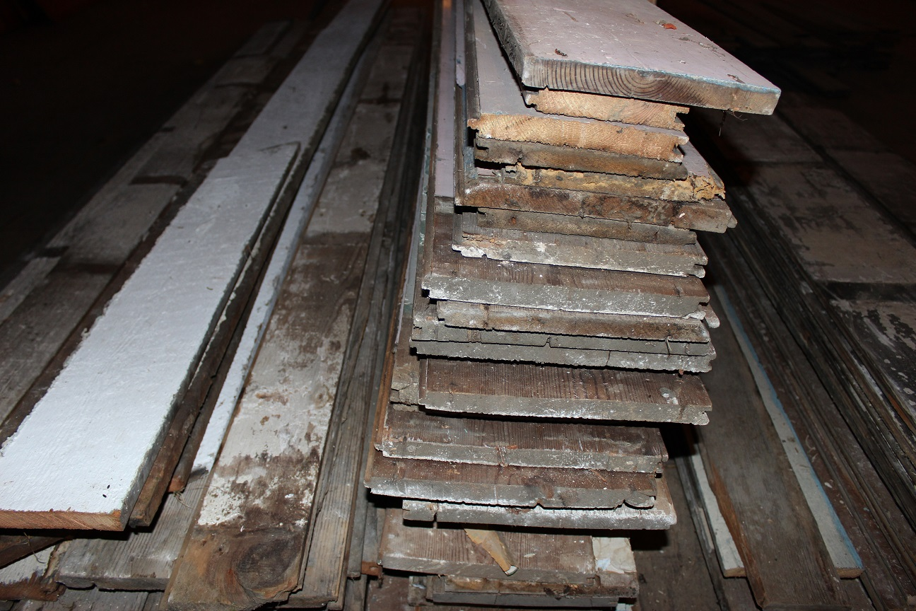 Reclaimed wood floors from the Housewright Shop in Shenandoah Valley Virginia