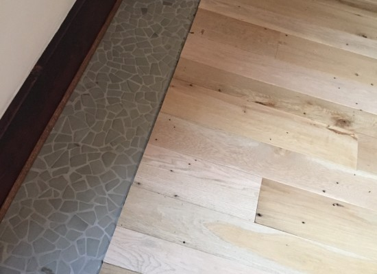 Reclaimed Oak Floors Installed in Washington DC Townhouse